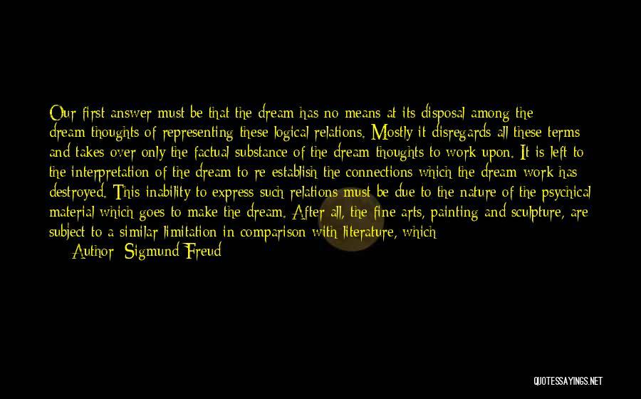 I Had A Dream Speech Quotes By Sigmund Freud