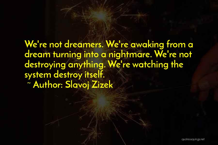 I Had A Dream Speech Quotes By Slavoj Zizek