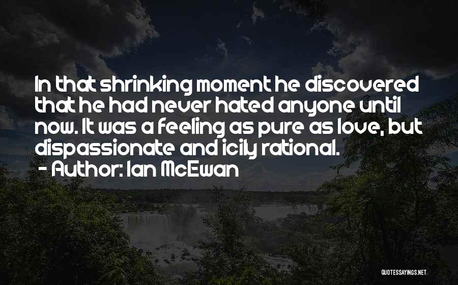 I Hate That Feeling When Quotes By Ian McEwan