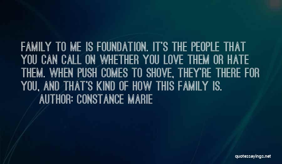 I Hate This Family Quotes By Constance Marie