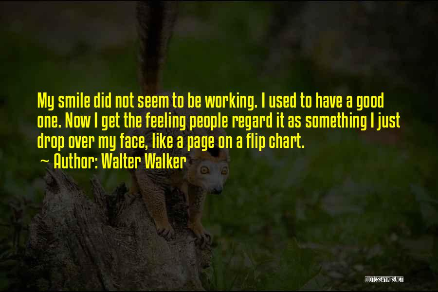 I Have A Good Feeling Quotes By Walter Walker