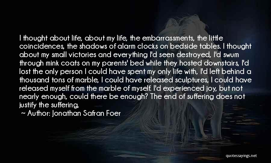 I Have Lost Everything Quotes By Jonathan Safran Foer