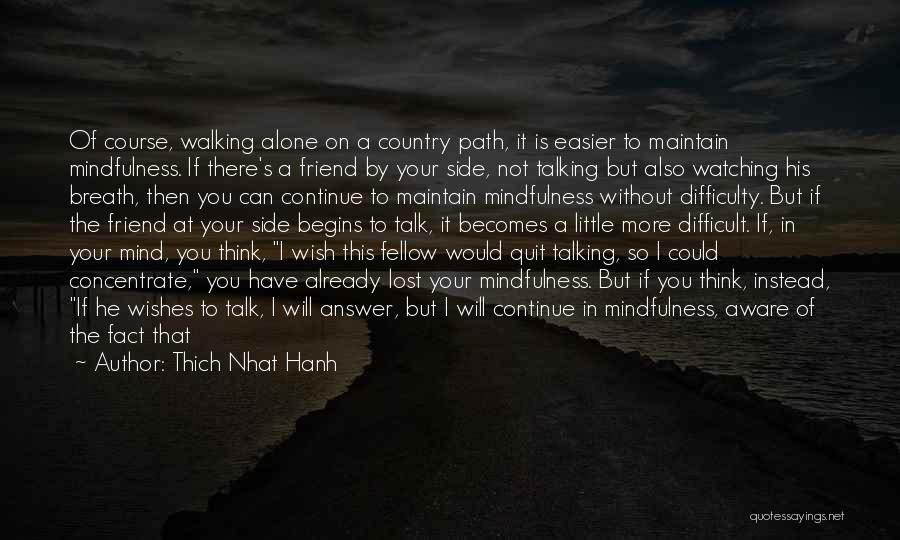 I Have Lost My Mind Quotes By Thich Nhat Hanh