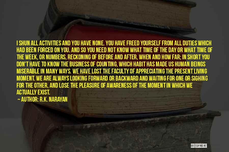 I Have Lost You Quotes By R.K. Narayan