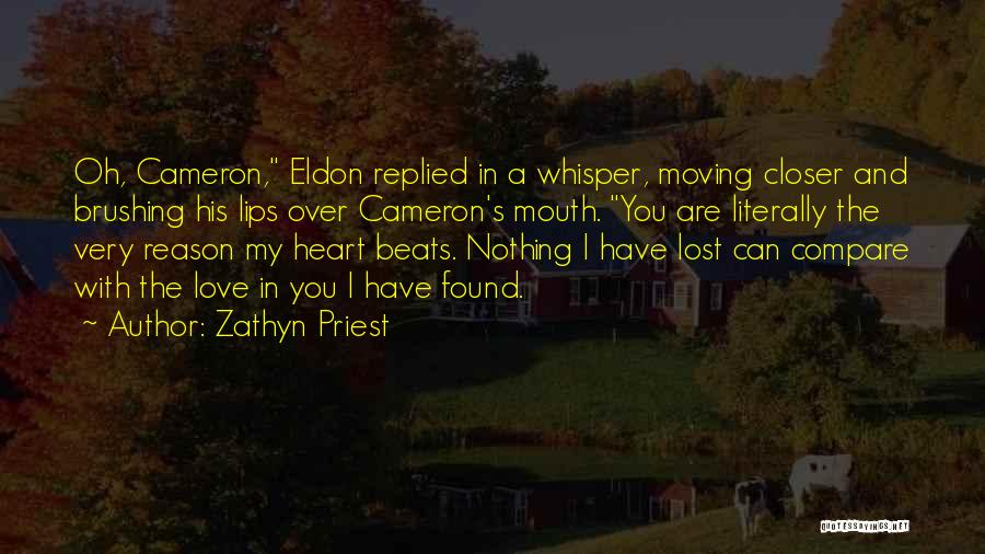 I Have Lost You Quotes By Zathyn Priest