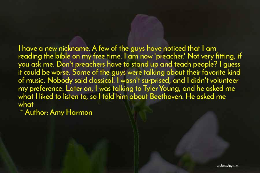 I Have Nobody Quotes By Amy Harmon