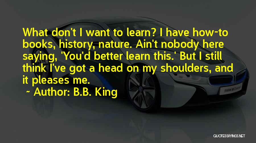I Have Nobody Quotes By B.B. King