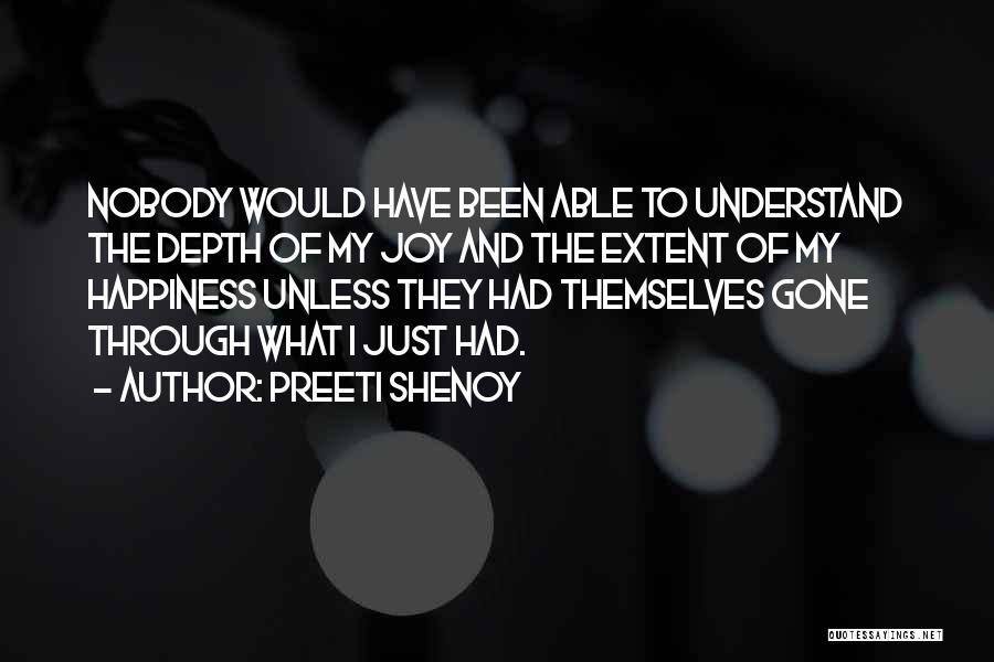 I Have Nobody Quotes By Preeti Shenoy