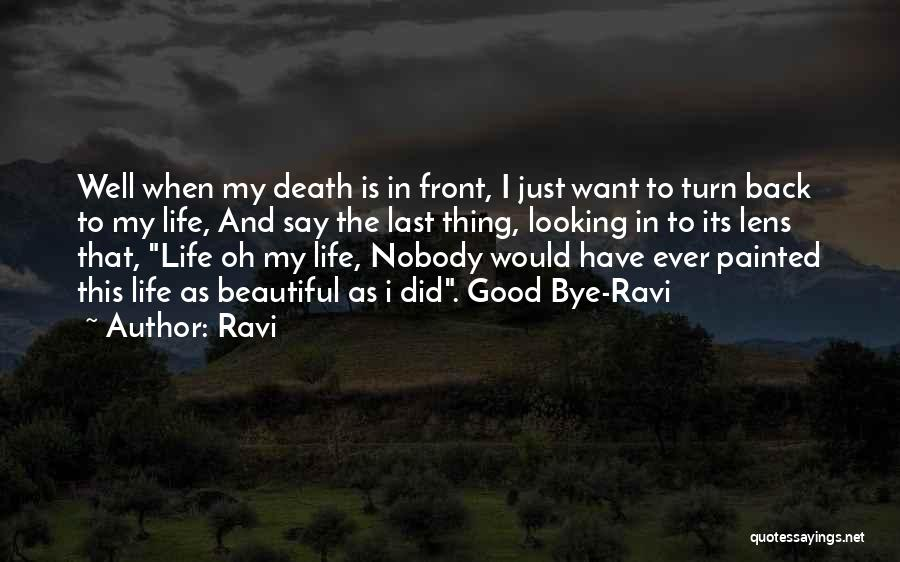 I Have Nobody Quotes By Ravi