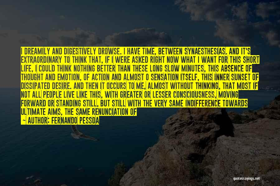 I Have Nothing But Time Quotes By Fernando Pessoa