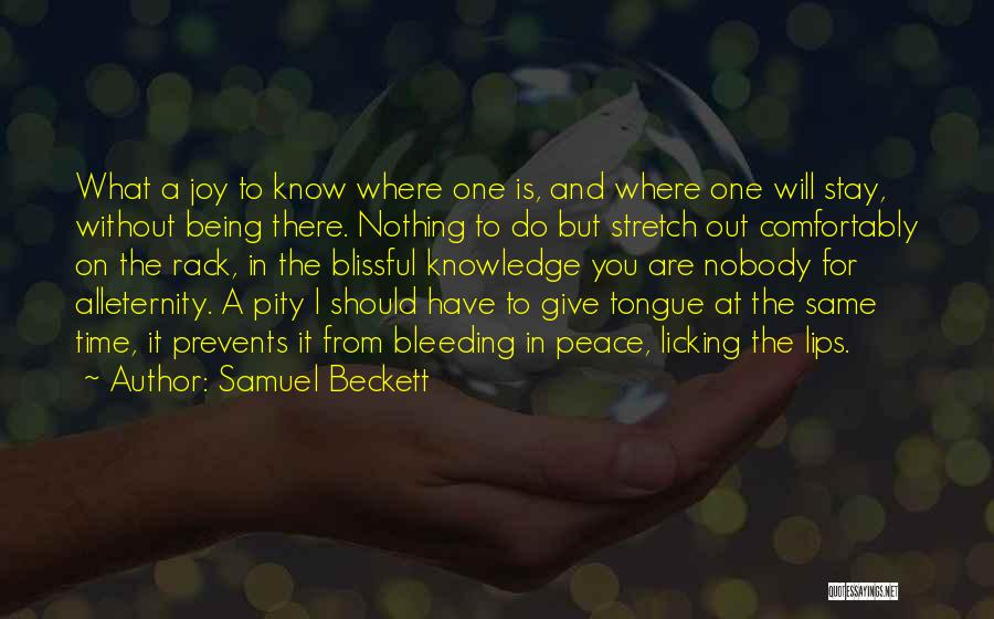 I Have Nothing But Time Quotes By Samuel Beckett