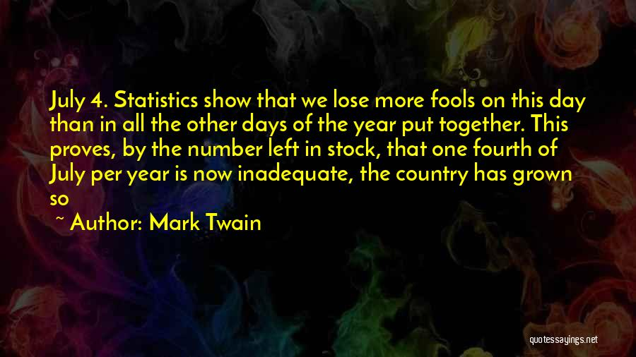 I Have Nothing Left To Lose Quotes By Mark Twain