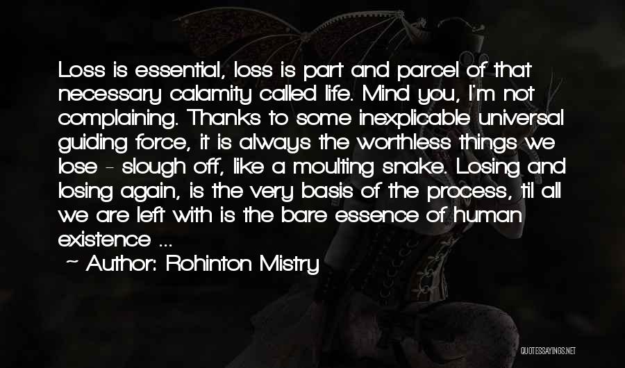 I Have Nothing Left To Lose Quotes By Rohinton Mistry