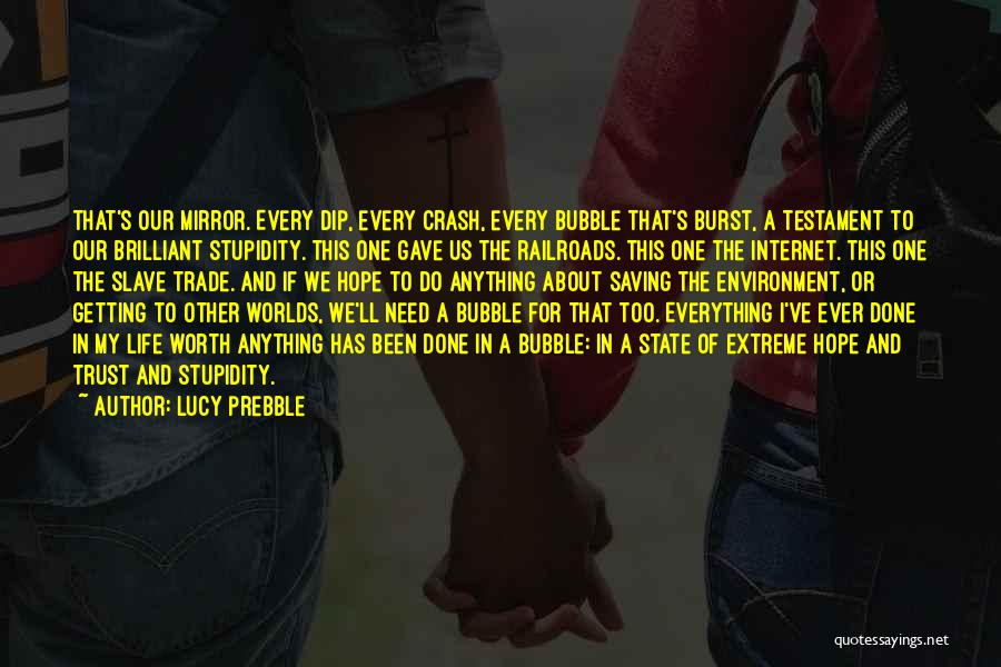 I Hope For Quotes By Lucy Prebble