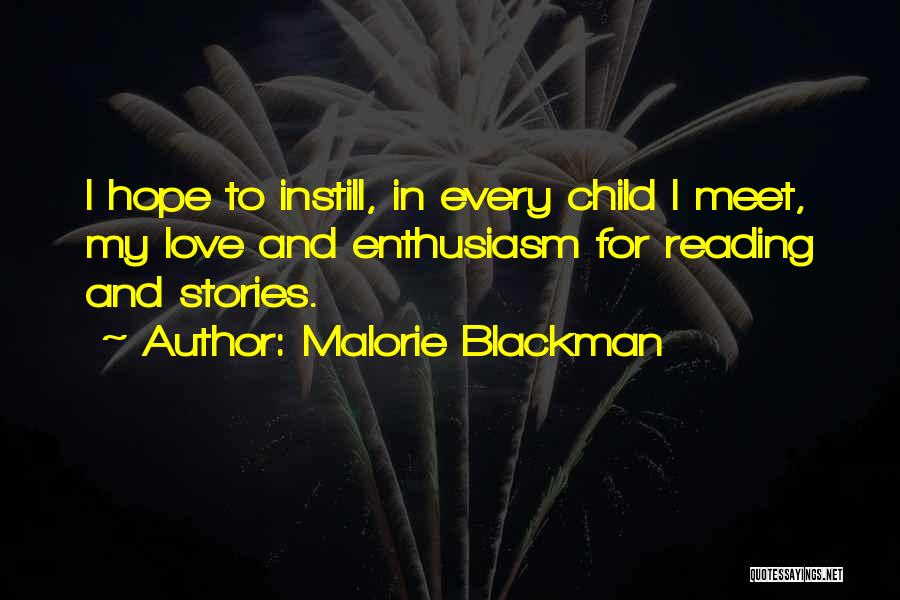 I Hope For Quotes By Malorie Blackman