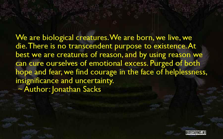 I Hope I Die Soon Quotes By Jonathan Sacks