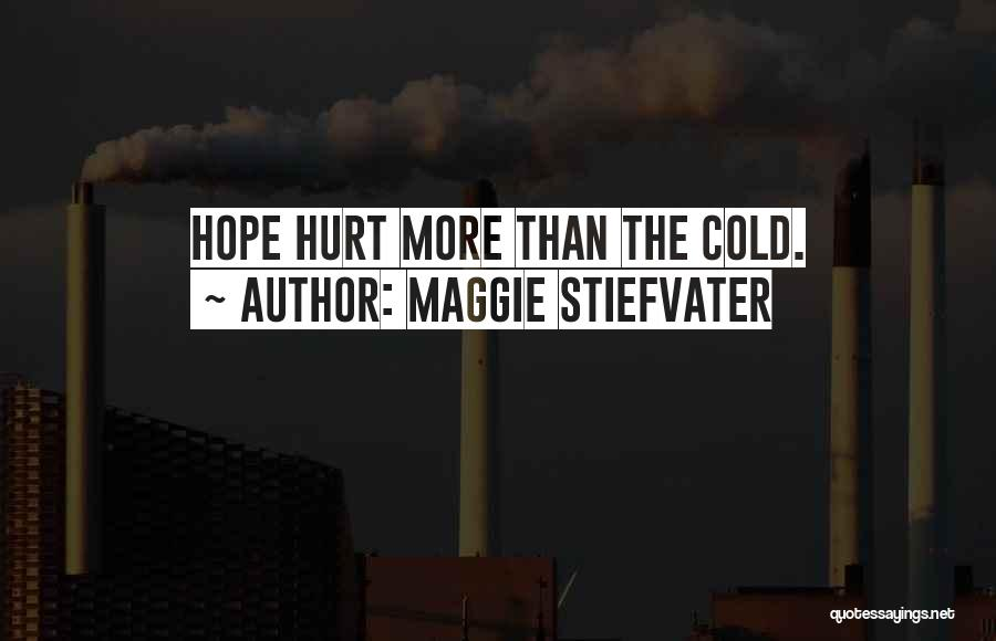 I Hope You Get Hurt Quotes By Maggie Stiefvater