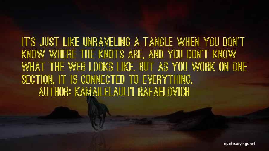 I Just Don't Like You Quotes By Kamailelauli'I Rafaelovich