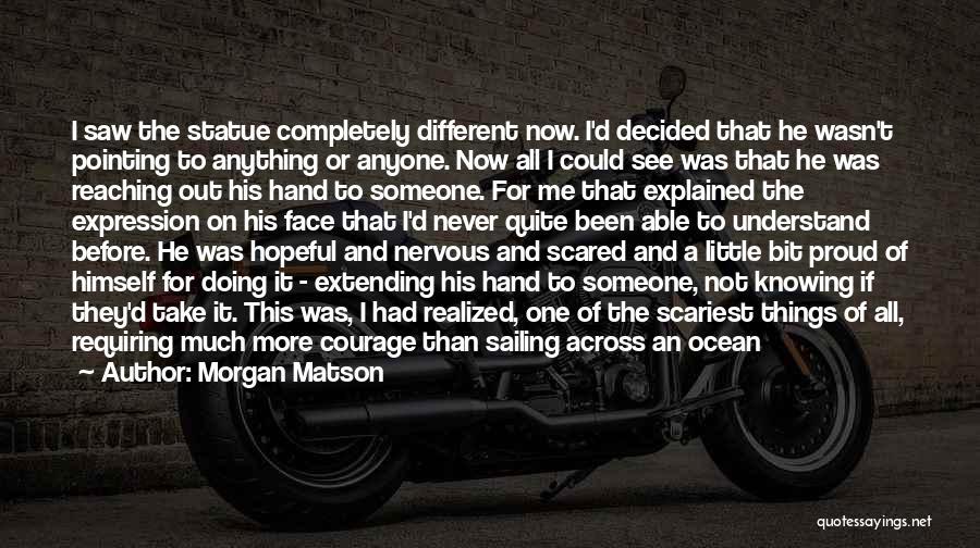 I Just Had An Epiphany Quotes By Morgan Matson