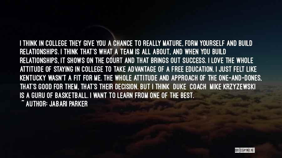 I Just Want Success Quotes By Jabari Parker