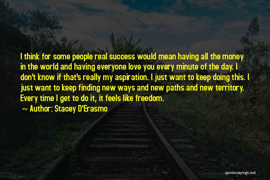 I Just Want Success Quotes By Stacey D'Erasmo