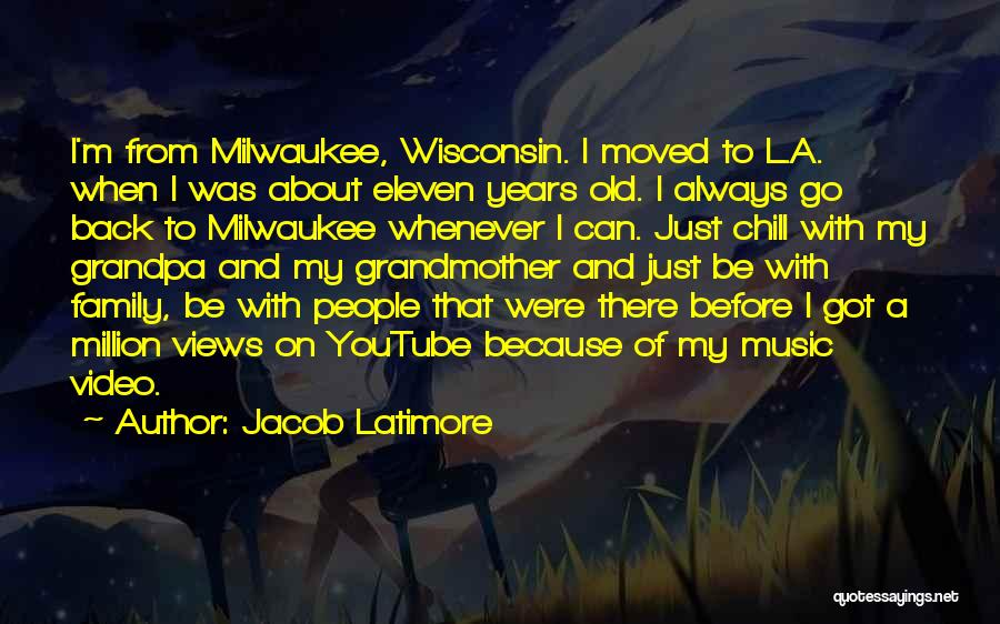 I Just Want The Old You Back Quotes By Jacob Latimore