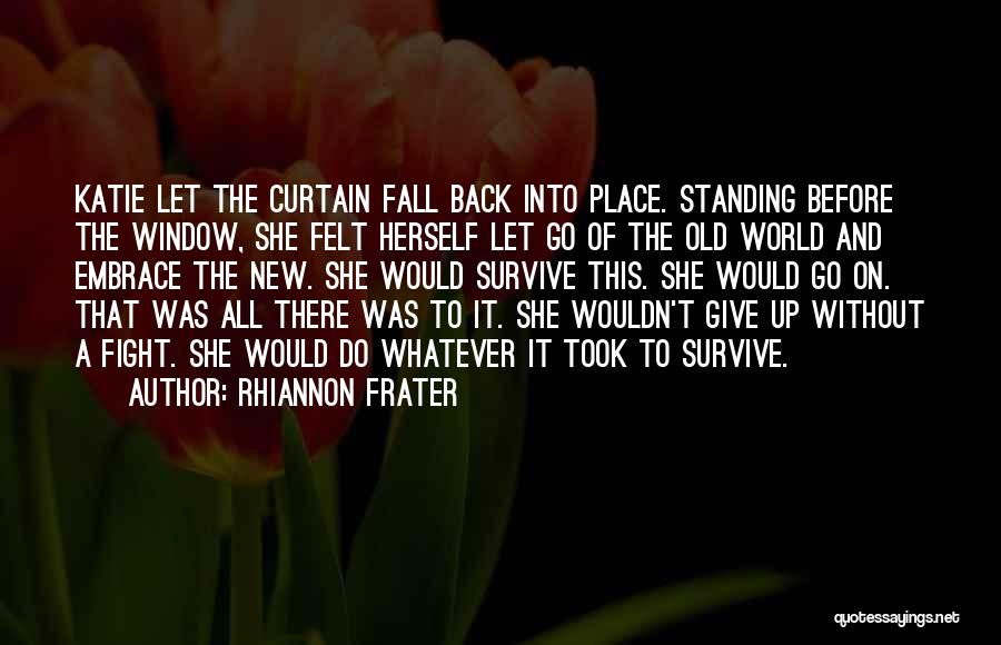 I Just Want The Old You Back Quotes By Rhiannon Frater