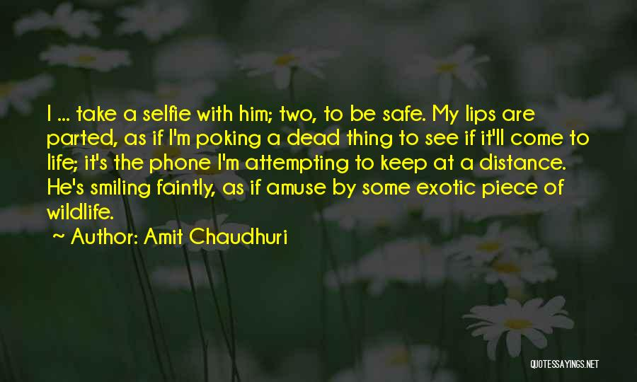 I Keep Smiling Quotes By Amit Chaudhuri