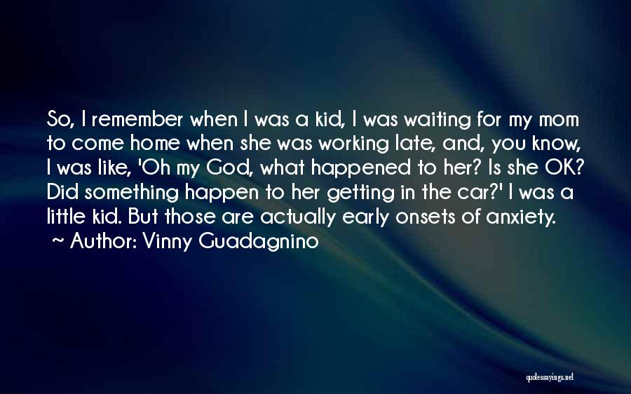 I Know God Is Working Quotes By Vinny Guadagnino