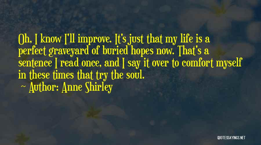 I Know I Am Not Perfect For You Quotes By Anne Shirley