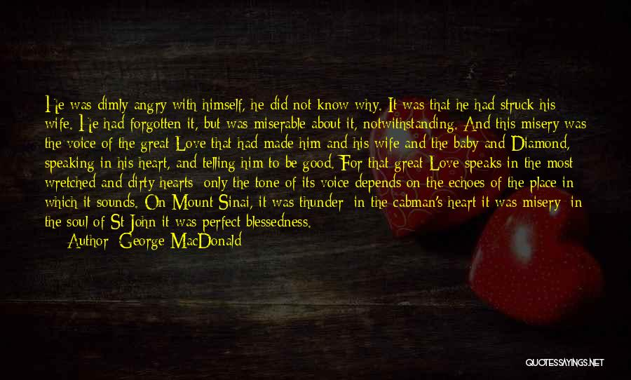 I Know I Am Not Perfect For You Quotes By George MacDonald
