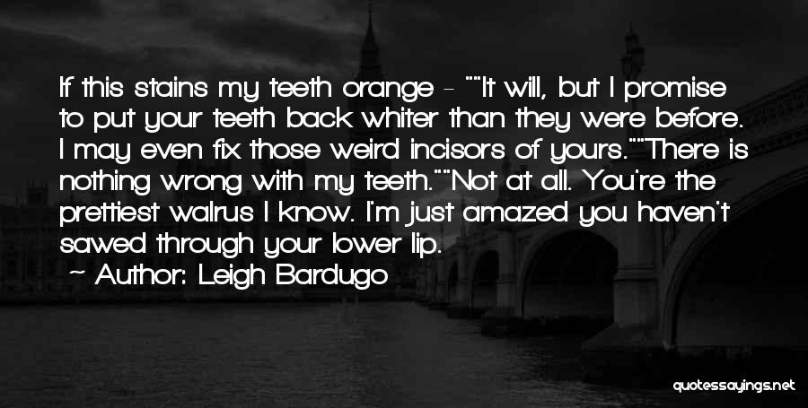 I Know I'm Not Yours Quotes By Leigh Bardugo