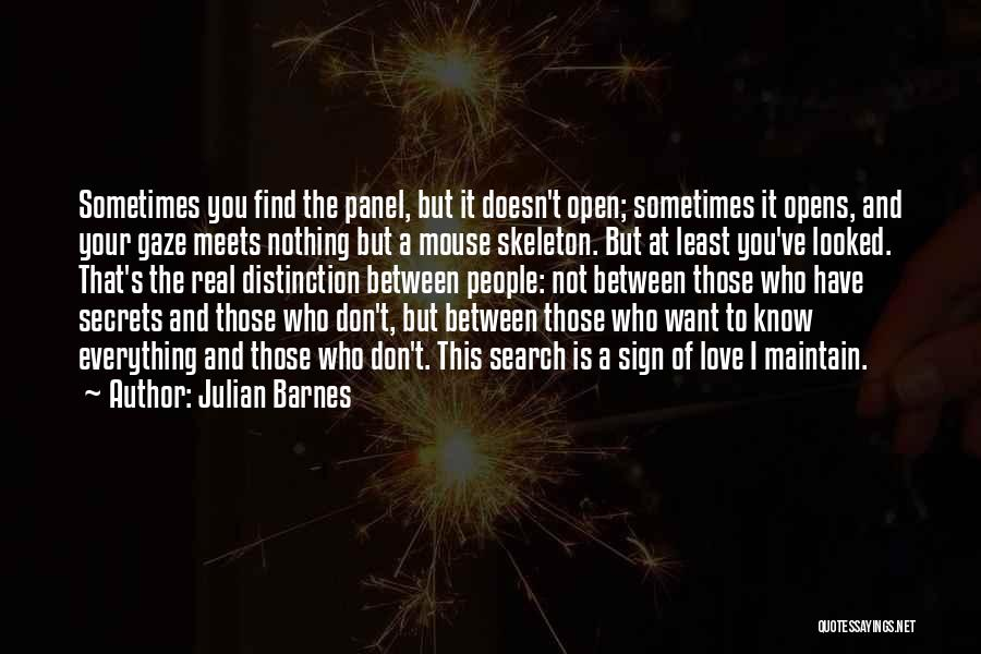 I Know It's Not Real Quotes By Julian Barnes