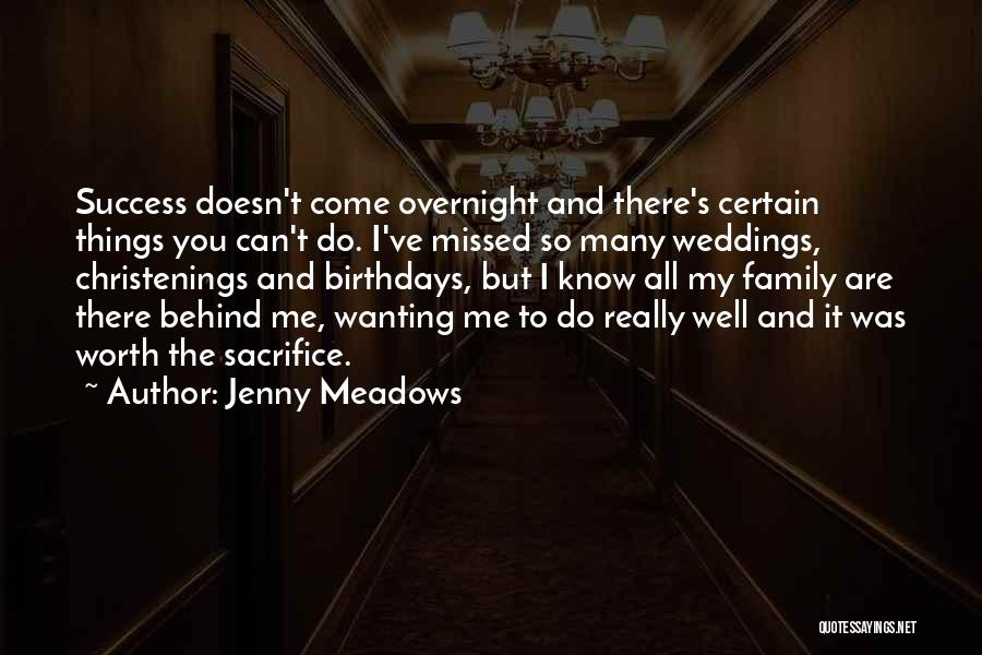 I Know My Worth Quotes By Jenny Meadows