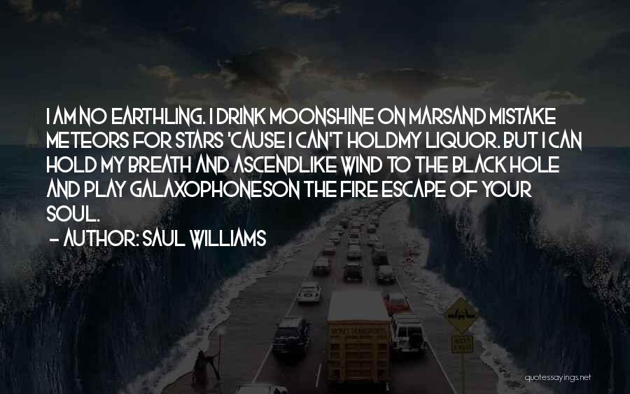 I Like To Play With Fire Quotes By Saul Williams