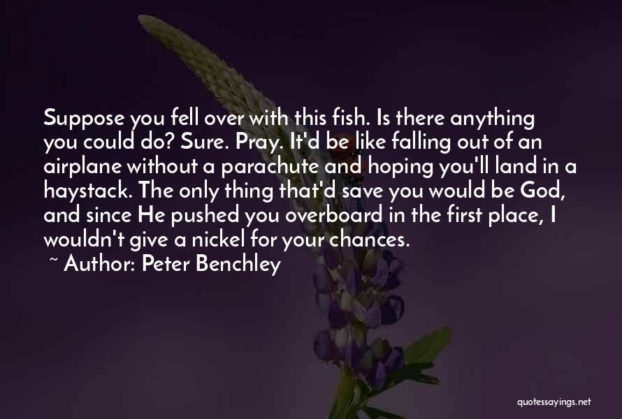 I Ll Do Anything For You Quotes By Peter Benchley