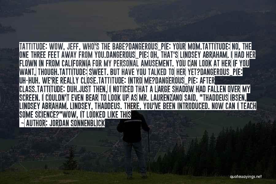 I Look Up To My Mom Quotes By Jordan Sonnenblick