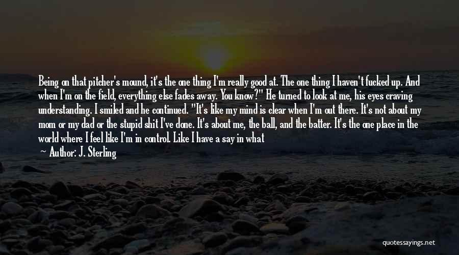 I Look Up To You Dad Quotes By J. Sterling