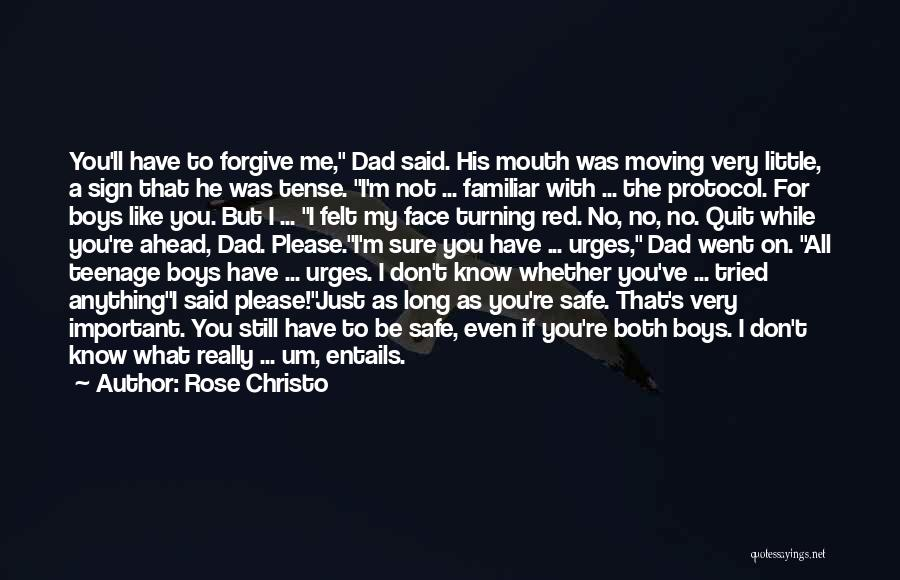 I Look Up To You Dad Quotes By Rose Christo