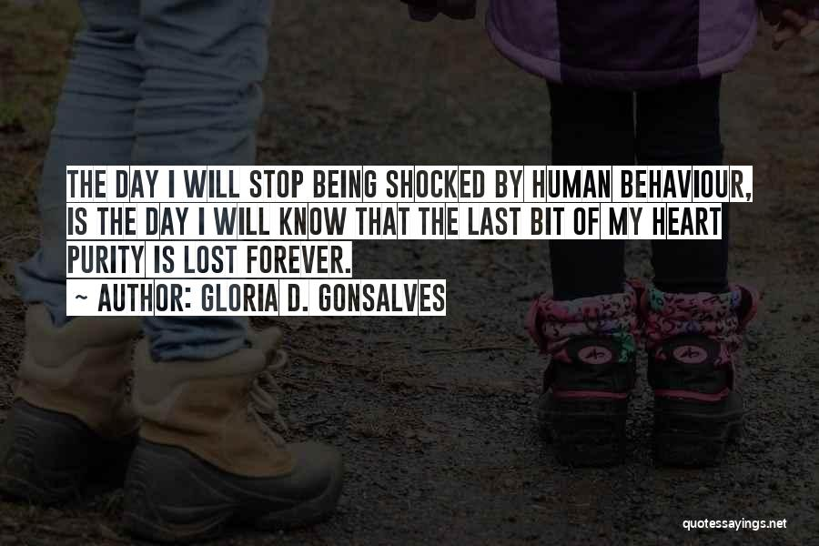 I Lost Him Forever Quotes By Gloria D. Gonsalves