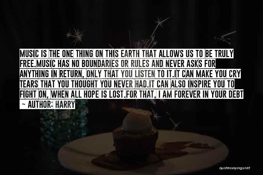 I Lost Him Forever Quotes By Harry