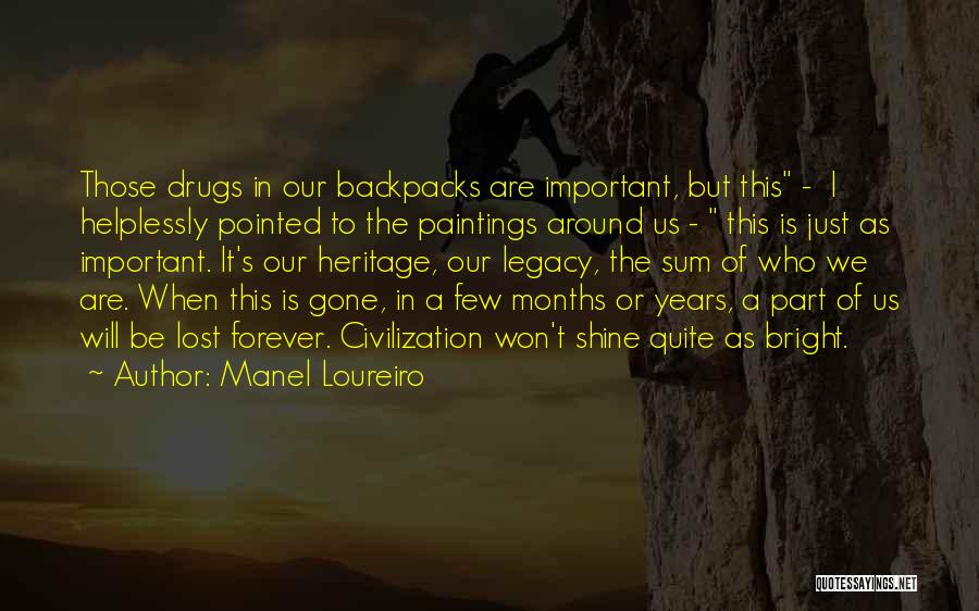 I Lost Him Forever Quotes By Manel Loureiro