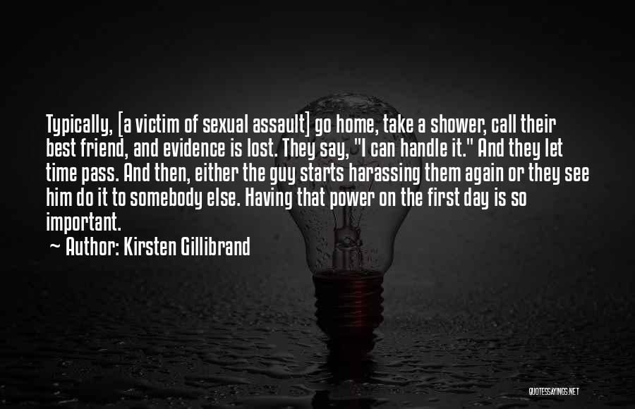 I Lost My Guy Best Friend Quotes By Kirsten Gillibrand