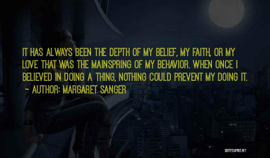 I Love Doing Nothing Quotes By Margaret Sanger