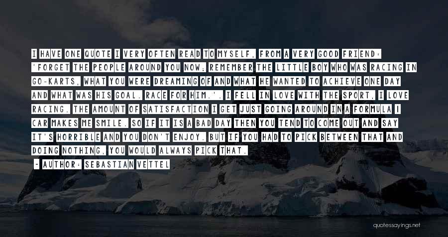 I Love Doing Nothing Quotes By Sebastian Vettel