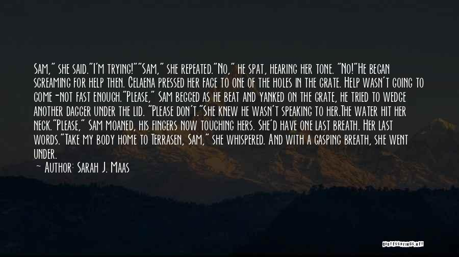 I Love For Her Quotes By Sarah J. Maas
