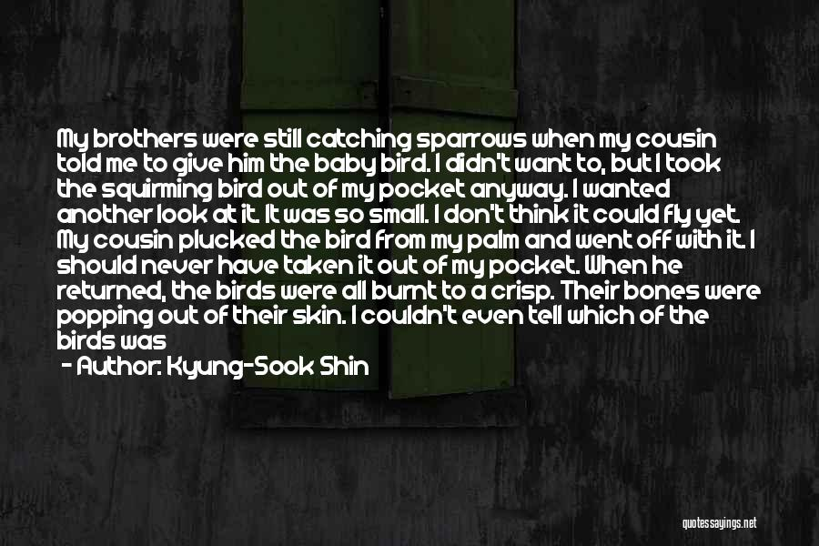 I Love Him But He Don't Love Me Quotes By Kyung-Sook Shin