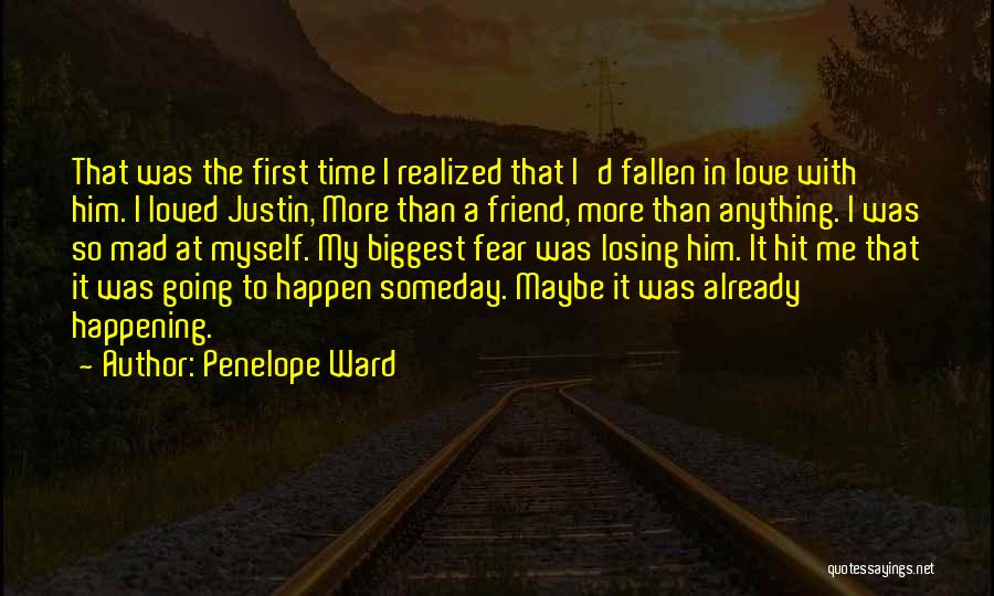 I Love Justin Quotes By Penelope Ward