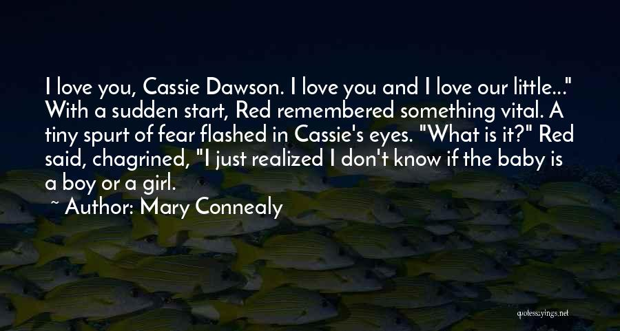 I Love My Baby Boy Quotes By Mary Connealy