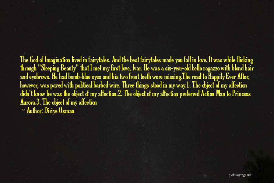 I Love My Man Quotes By Diriye Osman